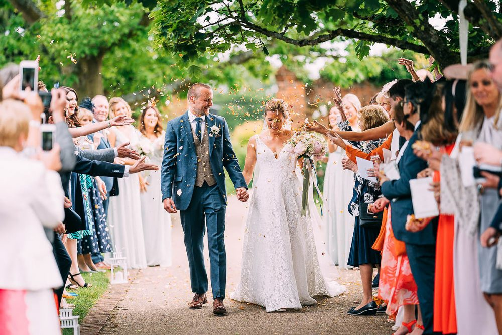 Confetti At Gaynes Park