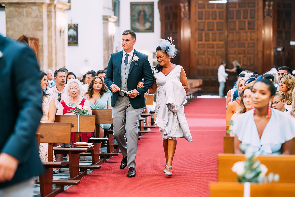 catholic wedding in Marbella
