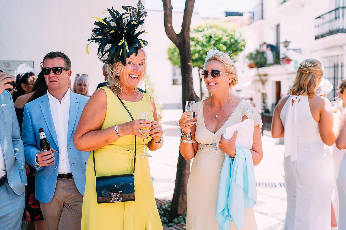 documentary wedding photos in Marbella