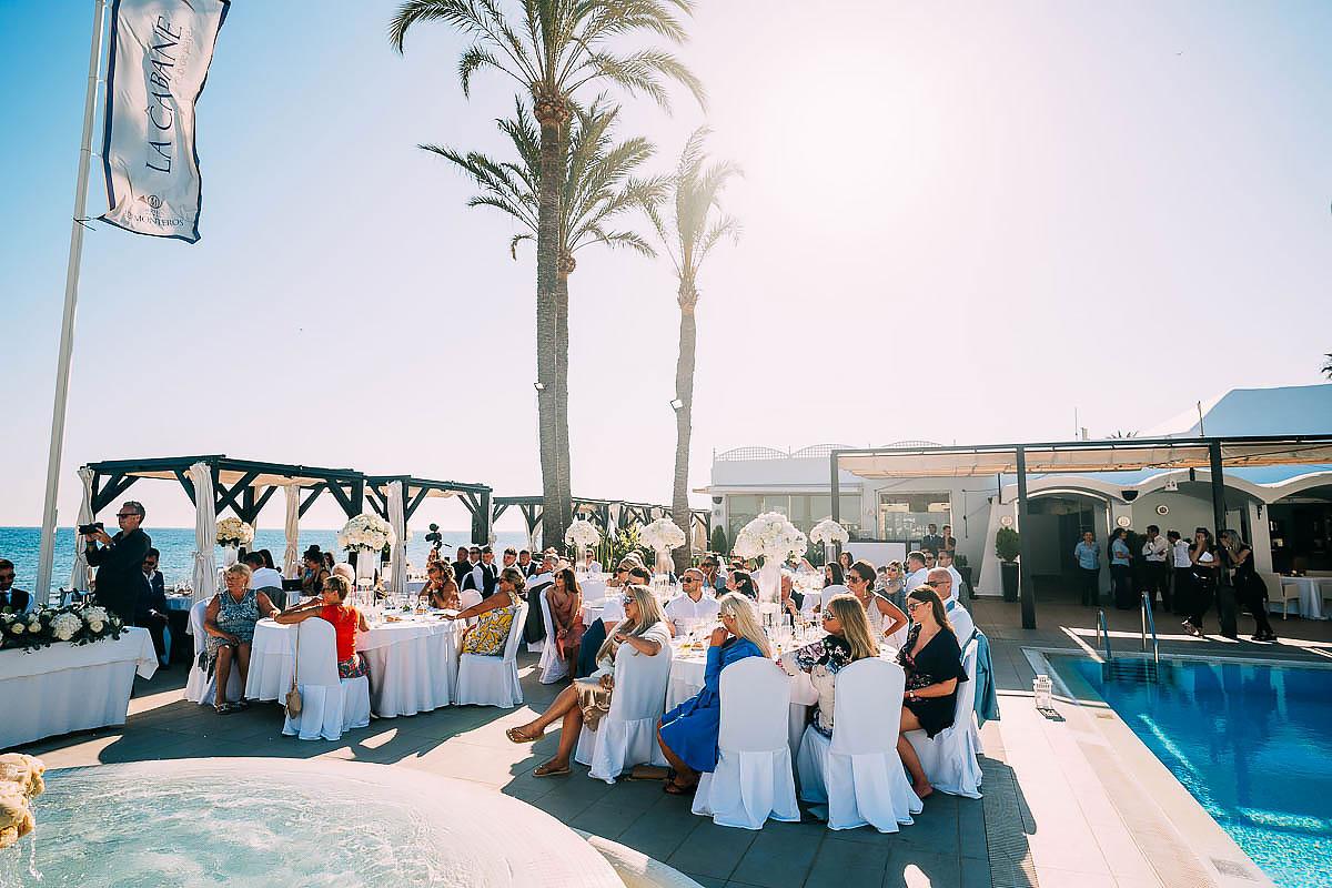 La Cabane Beach Club wedding venue