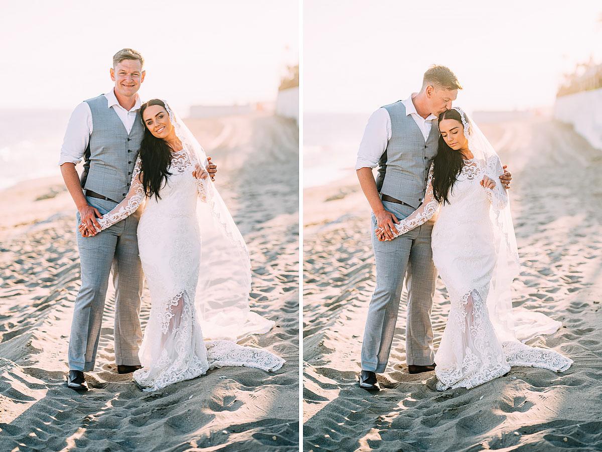 the best La Cabane Beach Club wedding photographer