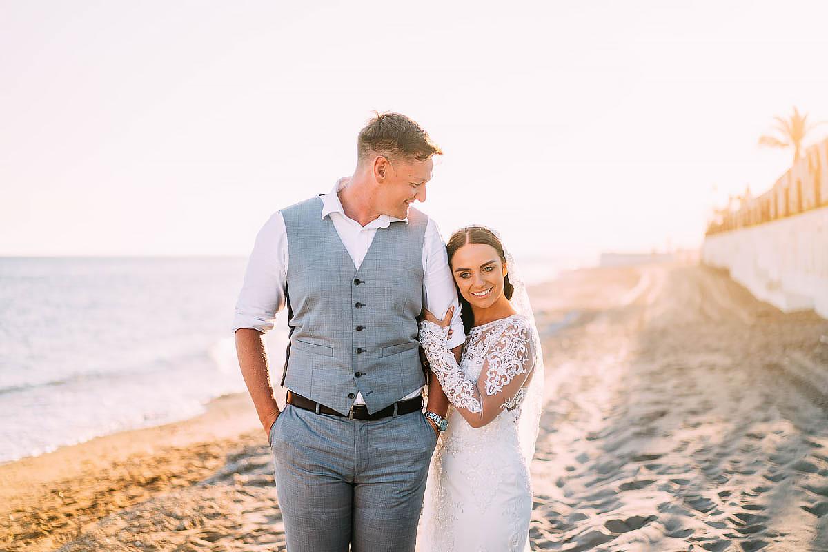La Cabane Beach Club wedding photos
