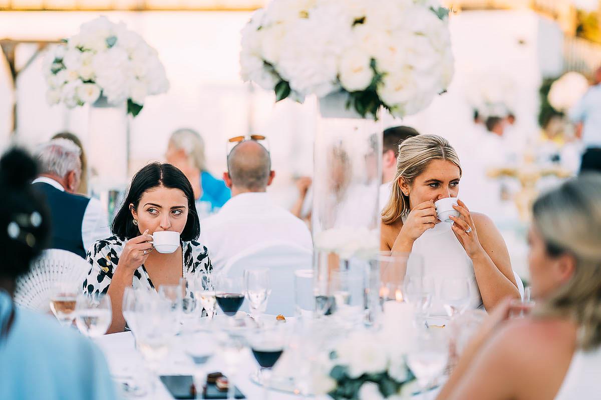 wedding speeches at La Cabane Beach Club