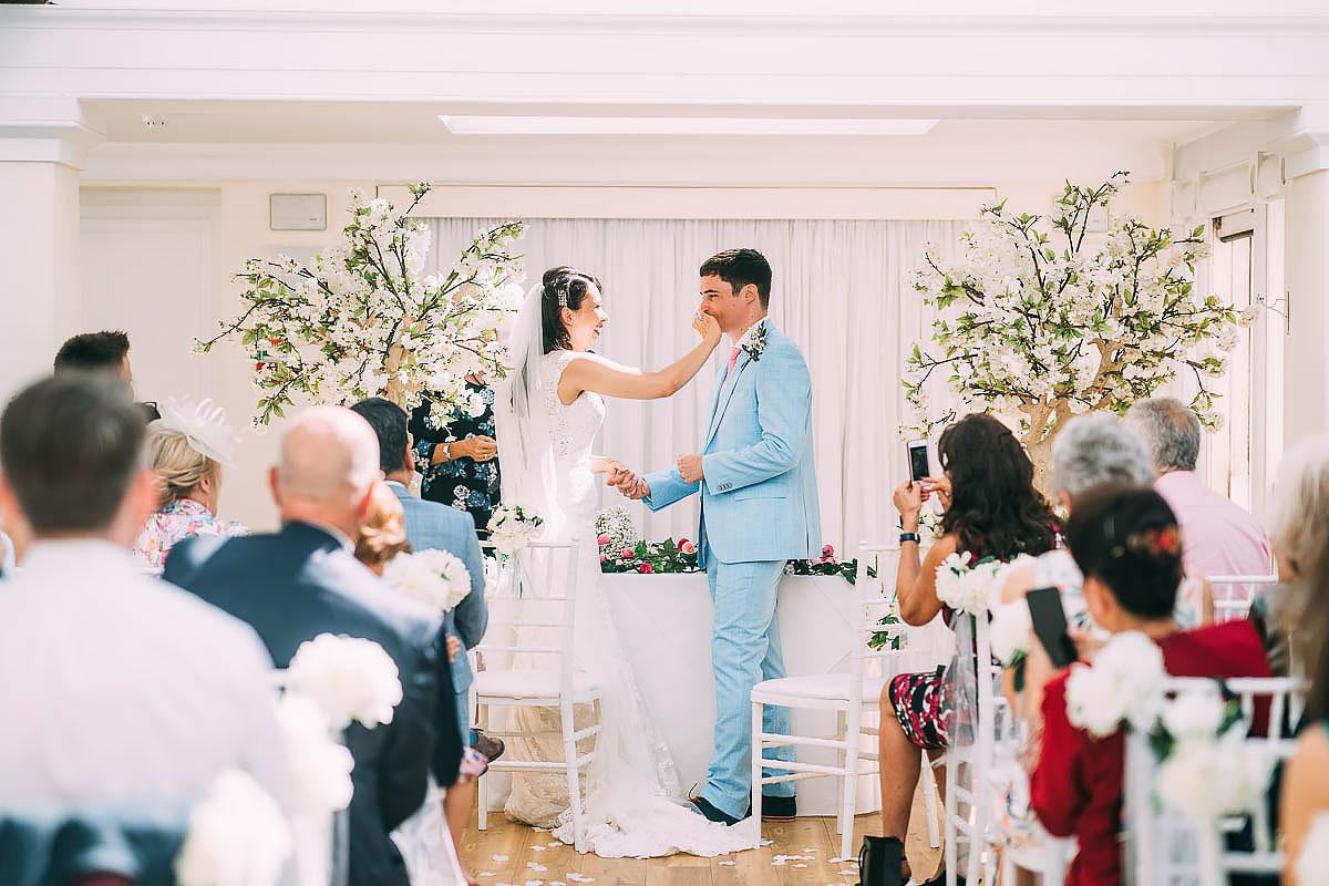 belvedere suite wedding ceremony