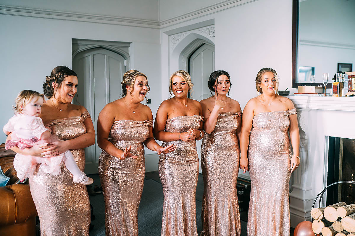 bridesmaids reactions
