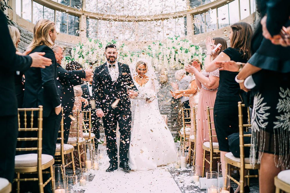 Confetti At Tortworth Court