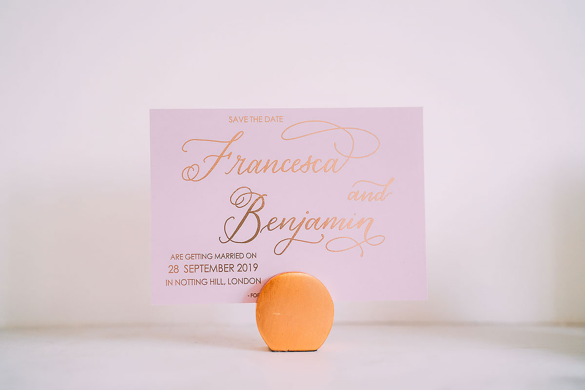 Sunbeam Studios wedding invite