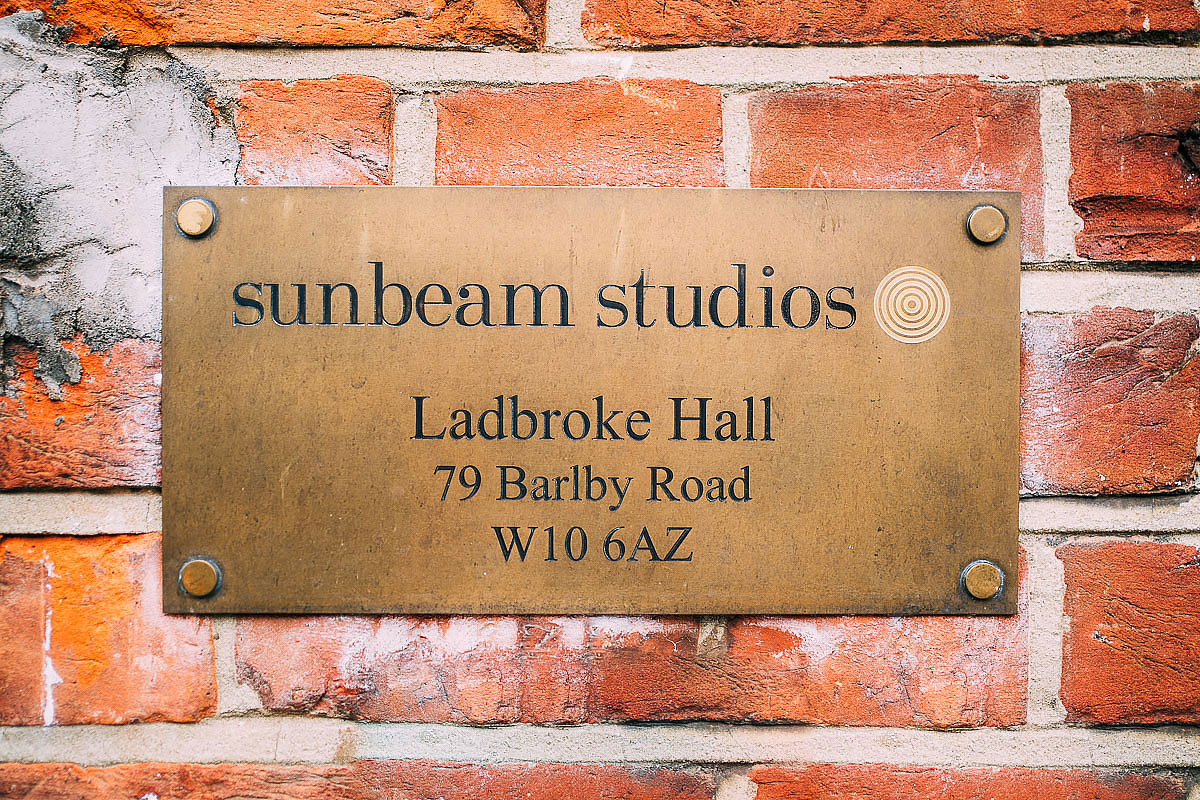 Sunbeam Studios sign