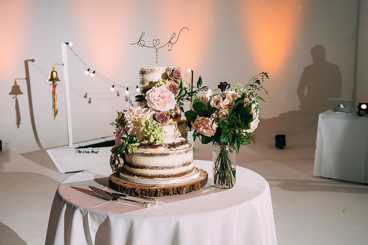 Sunbeam Studios wedding cake