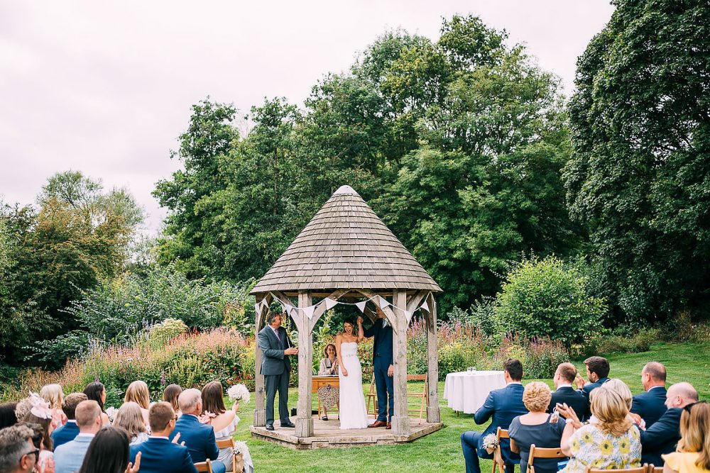 Priston Mill Wedding Outside