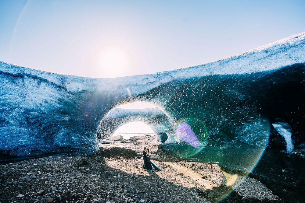 Ice CavePre Wedding Shoot