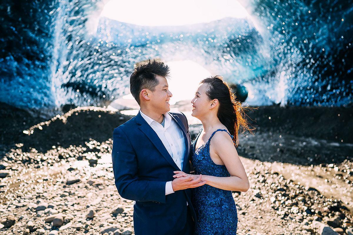 glacierPre wedding Shoot