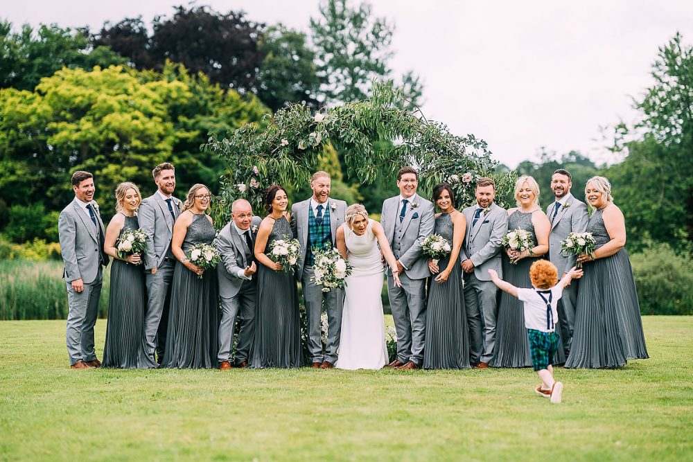 Brympton House Summer Wedding