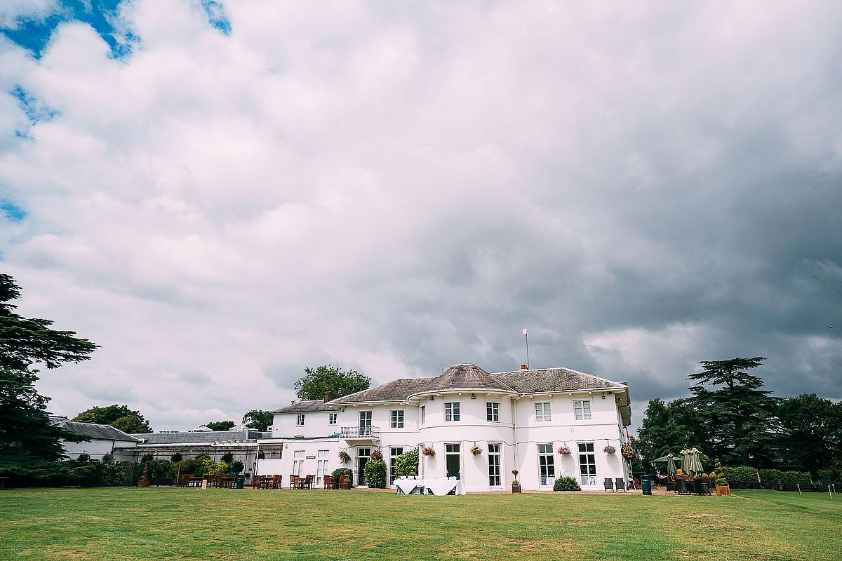 Dyrham Park Country Club wedding venue