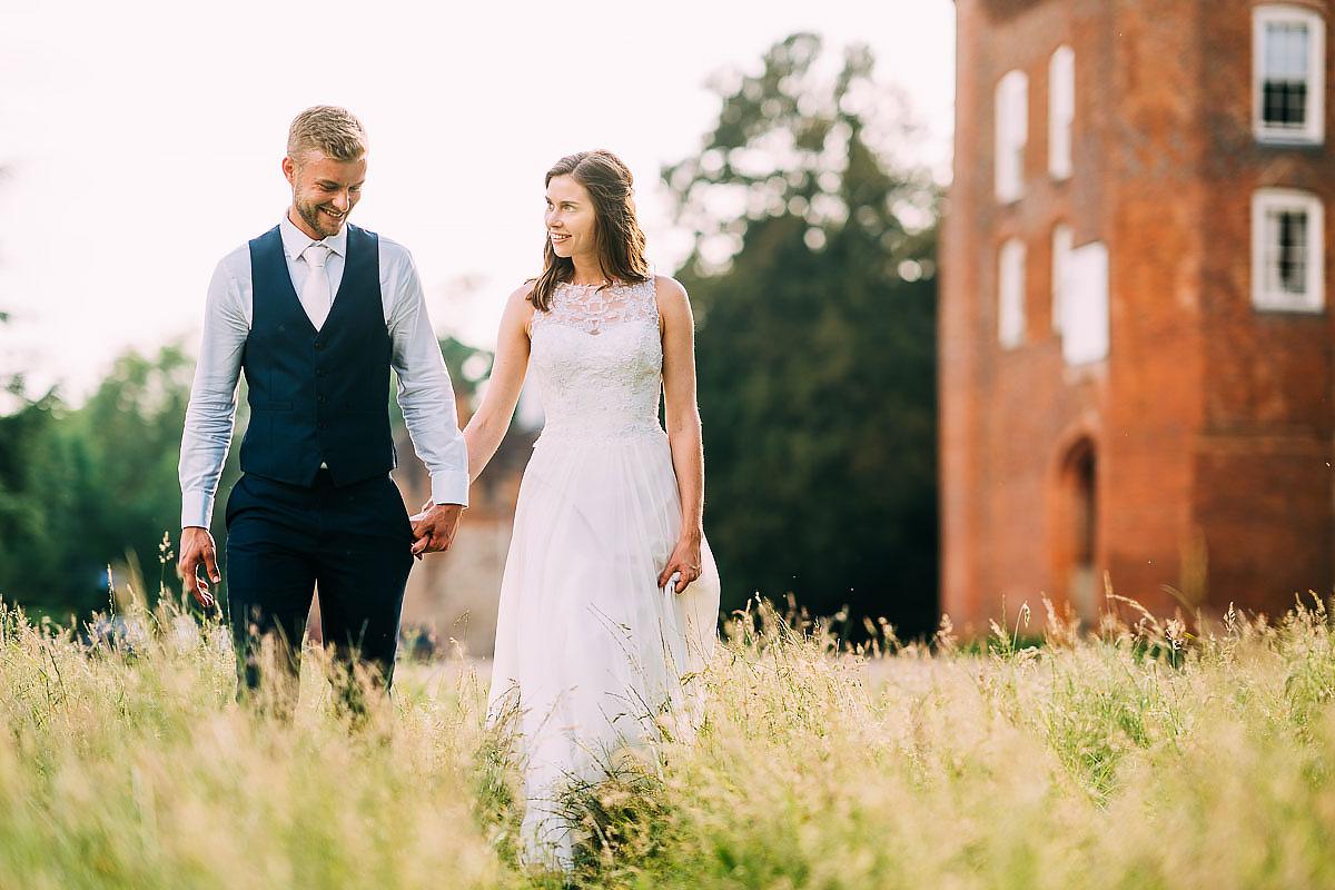 couple photos at Farnham Castle