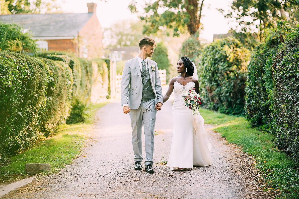 back garden wedding in Surrey