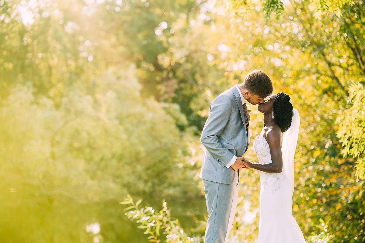 Surrey wedding in a garden