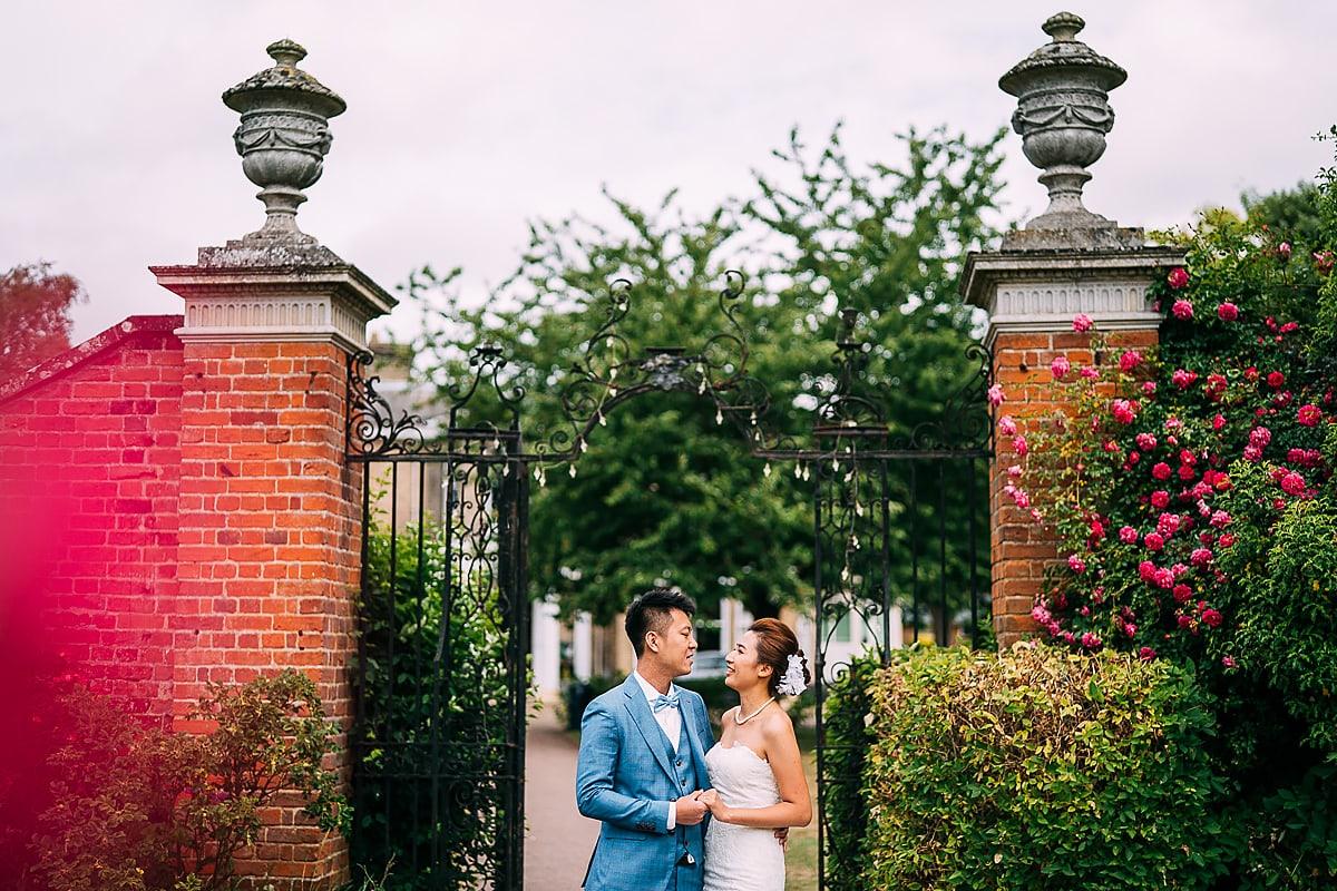 Ipswich garden pre wedding shoot