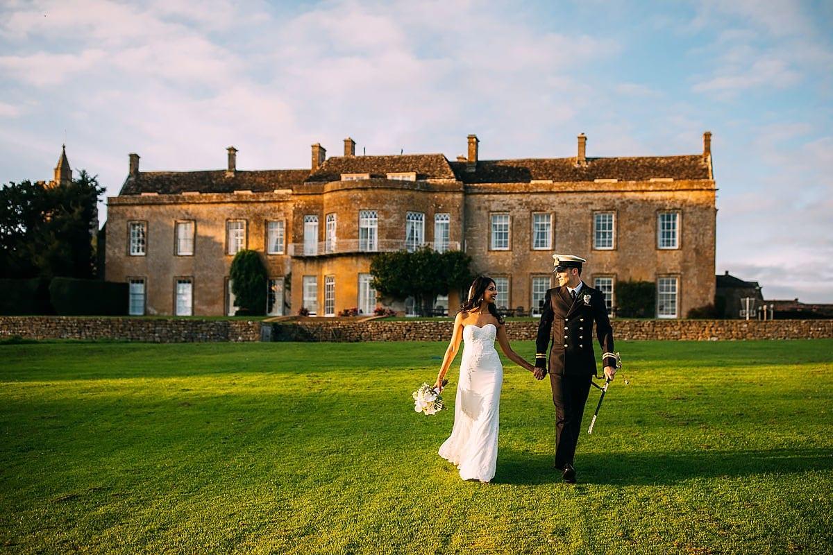 autumn wedding at North Cadbury Court