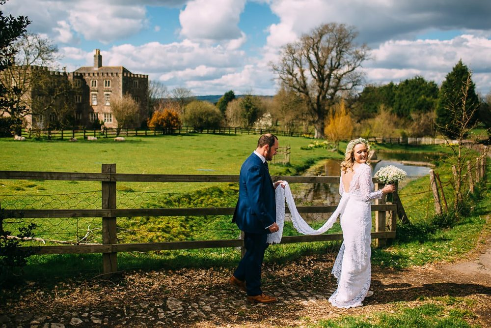 Folly Farm winter Wedding Photos