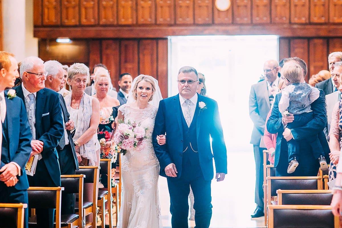 St Matthias Church wedding