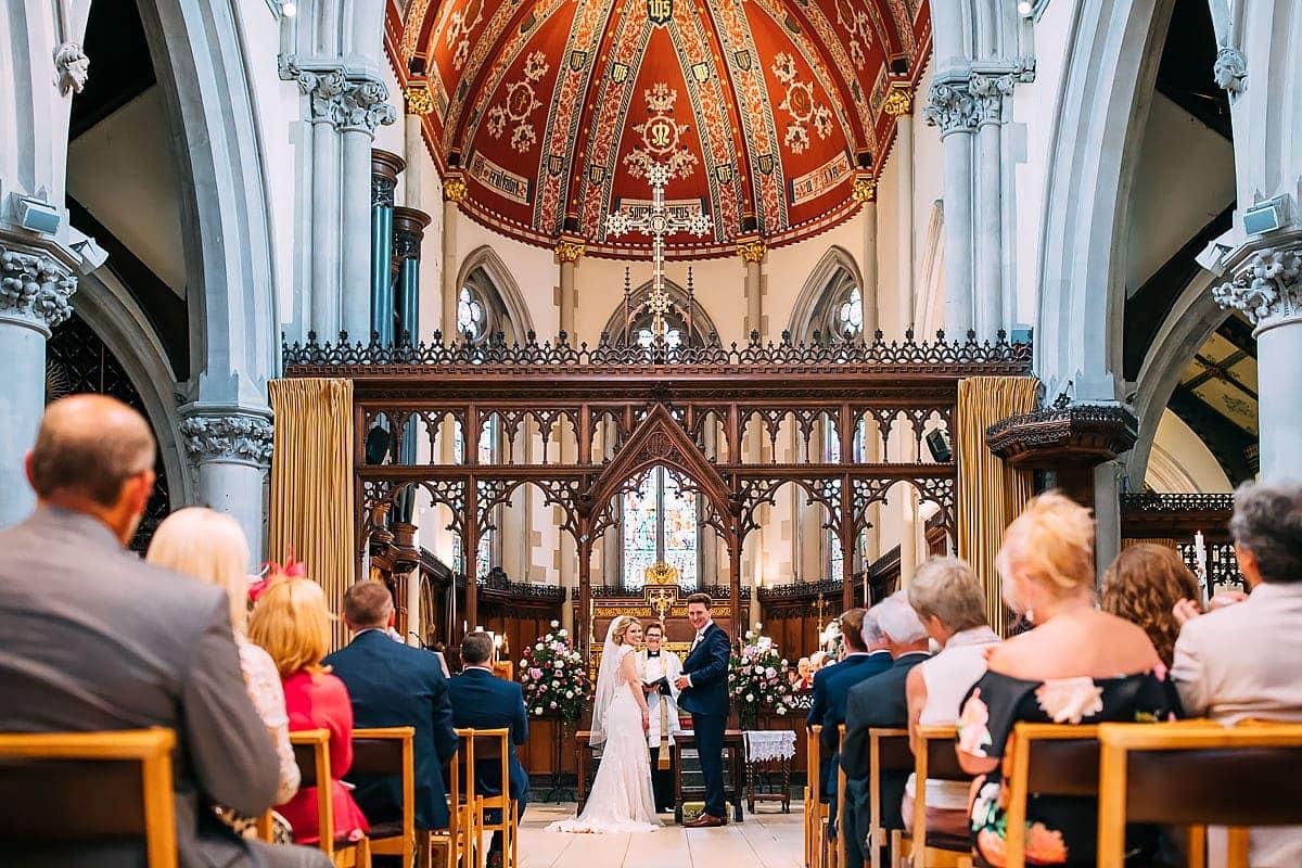 St Matthias Church Richmond wedding photos
