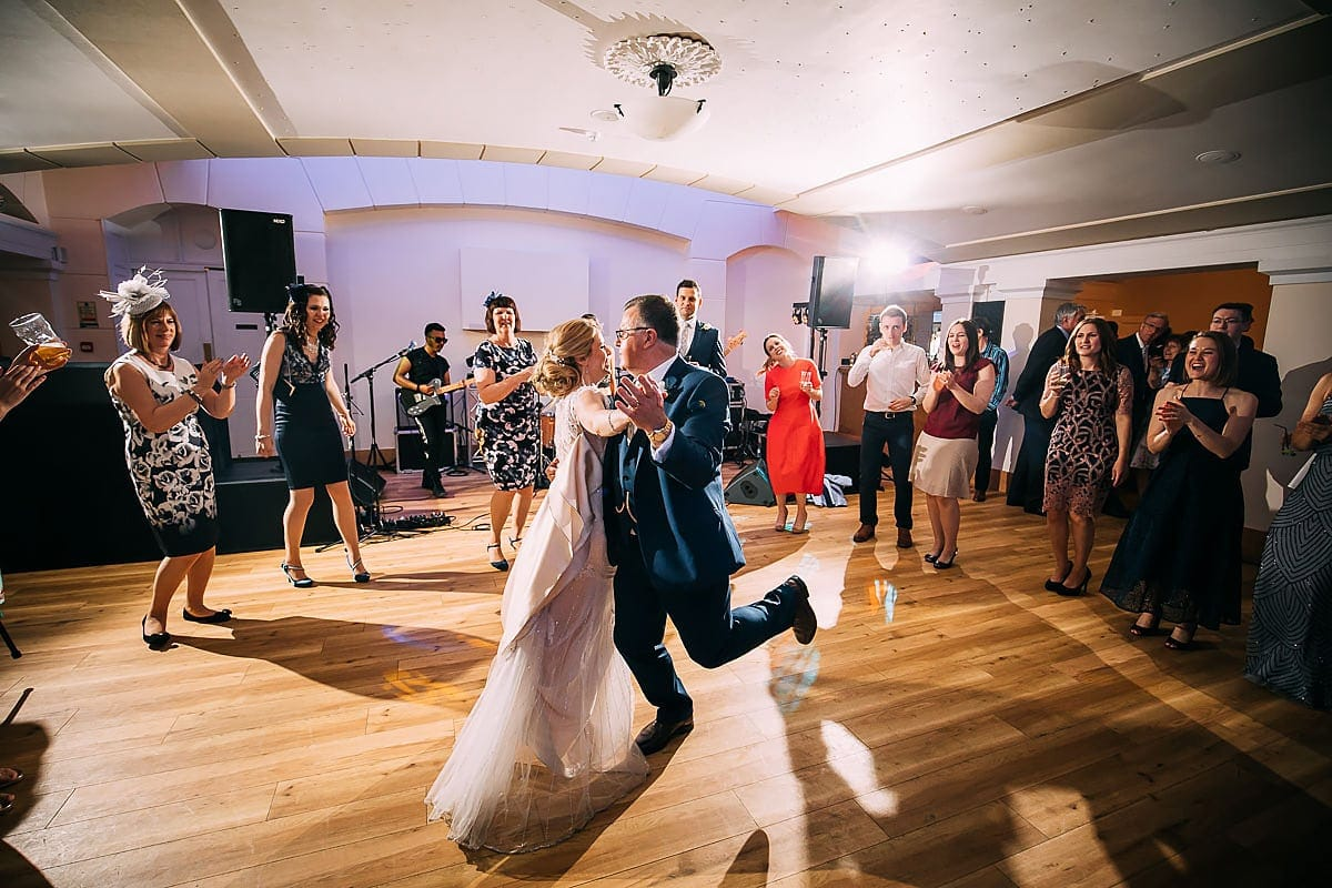 dancing inside Pembroke Lodge