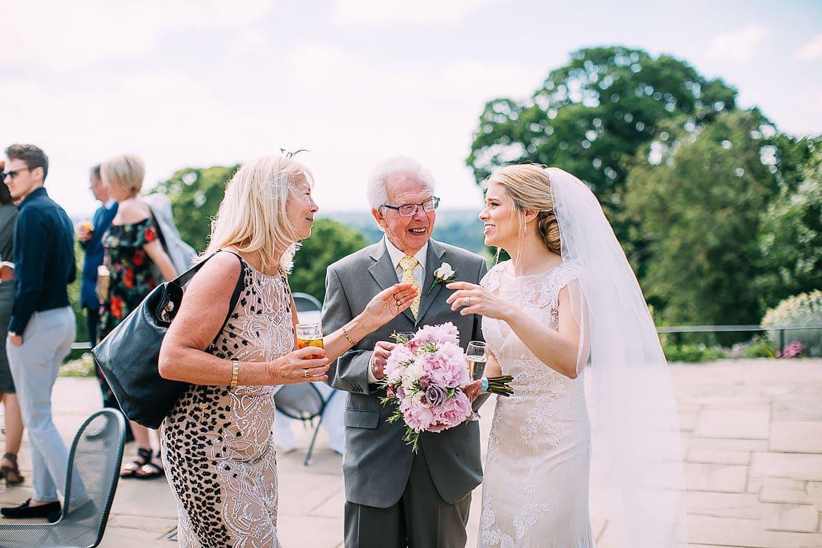 documentary wedding photos at Pembroke Lodge