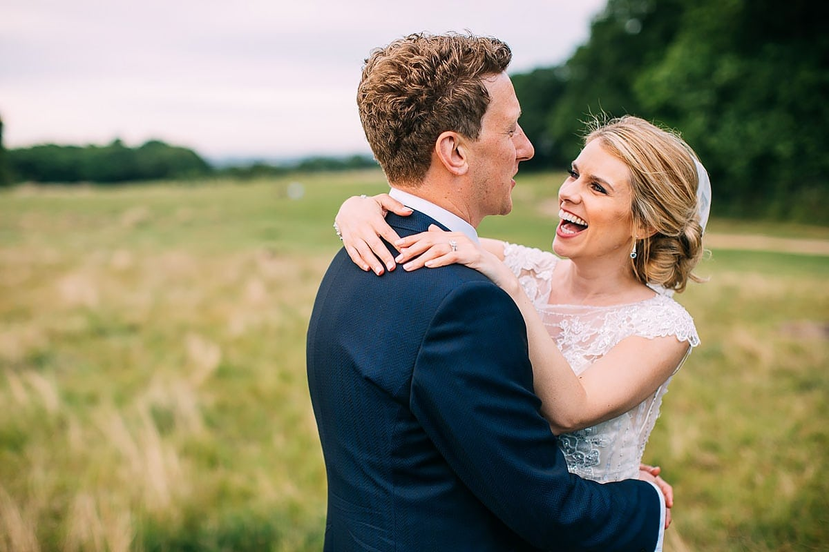 couple photos Pembroke Lodge wedding
