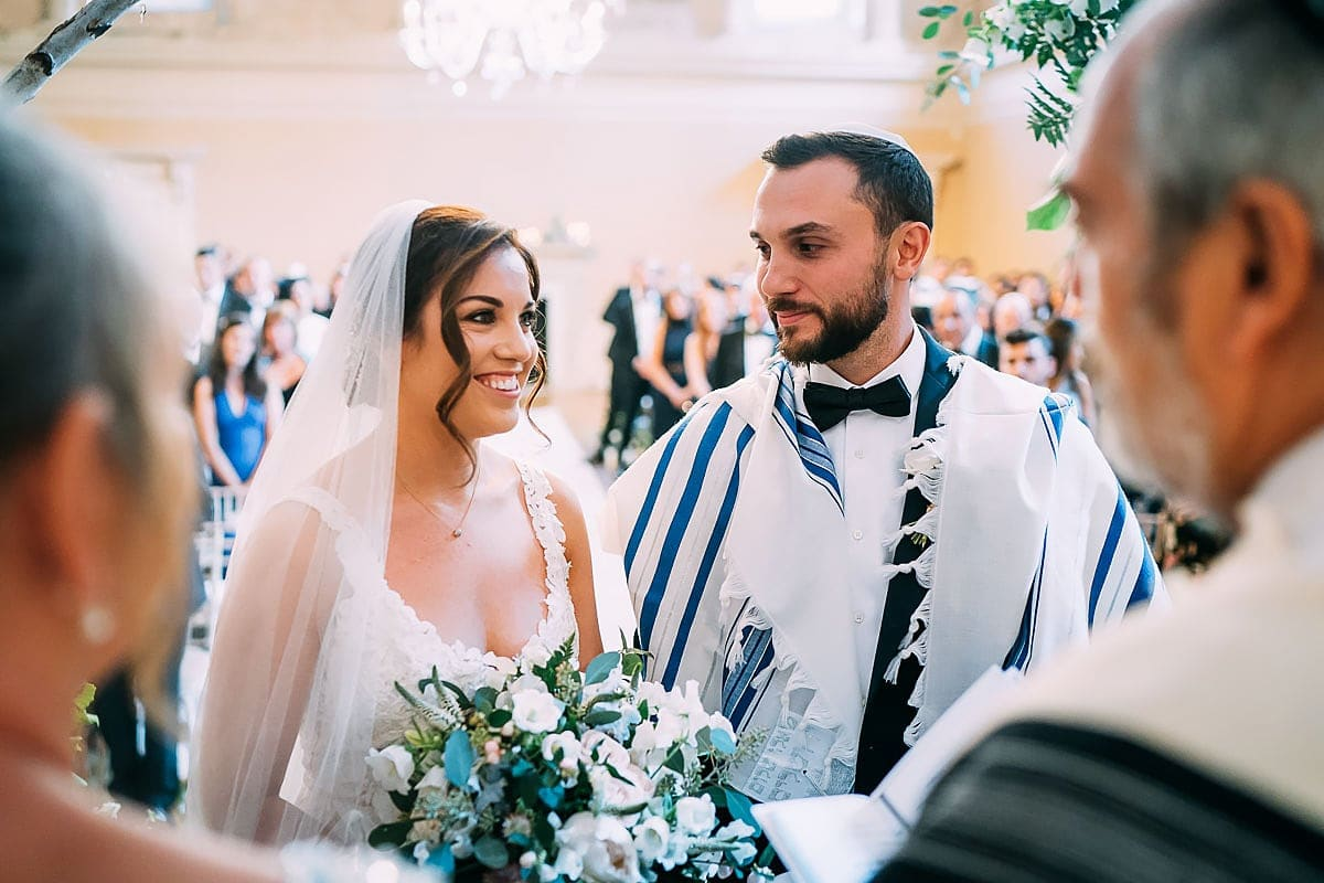 jewish wedding ceremony in Bath