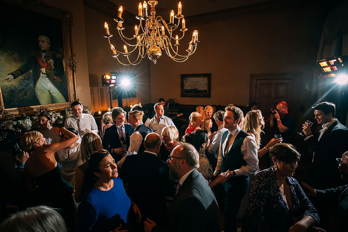 Orchardleigh wedding dancefloor