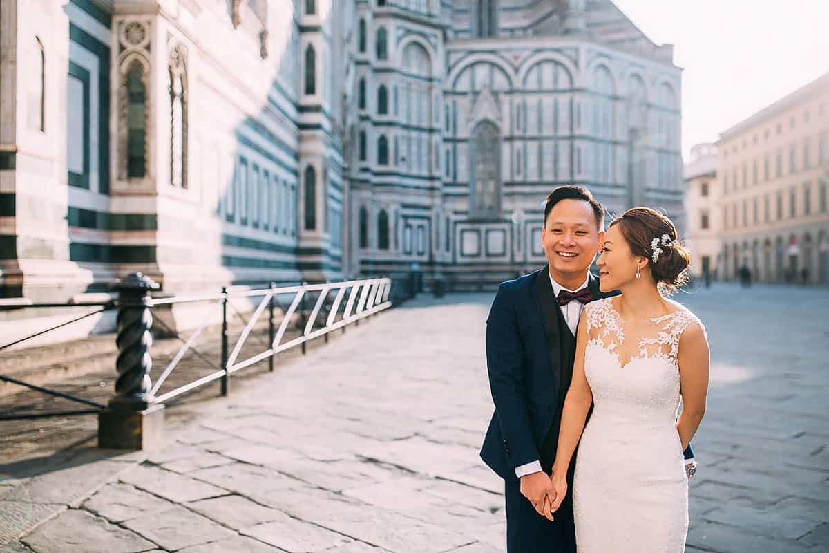 florence duomo pre wedding shoot