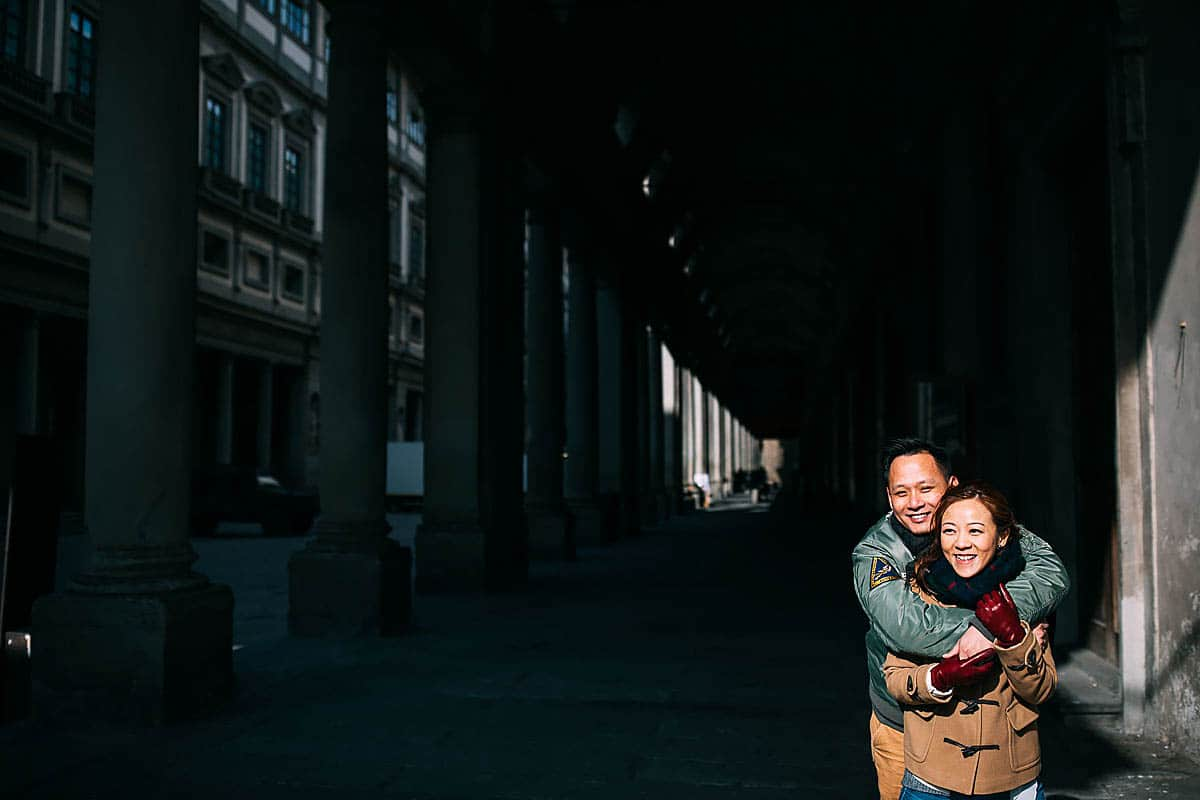 Firenze pre wedding shoot