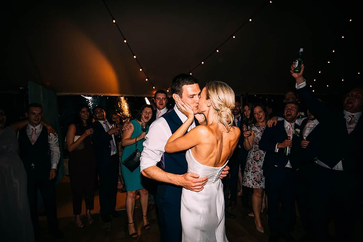 first dance at Yorebridge house wedding