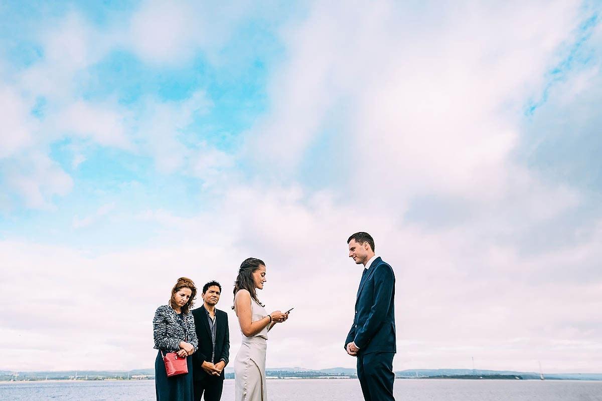 small wedding in Bristol