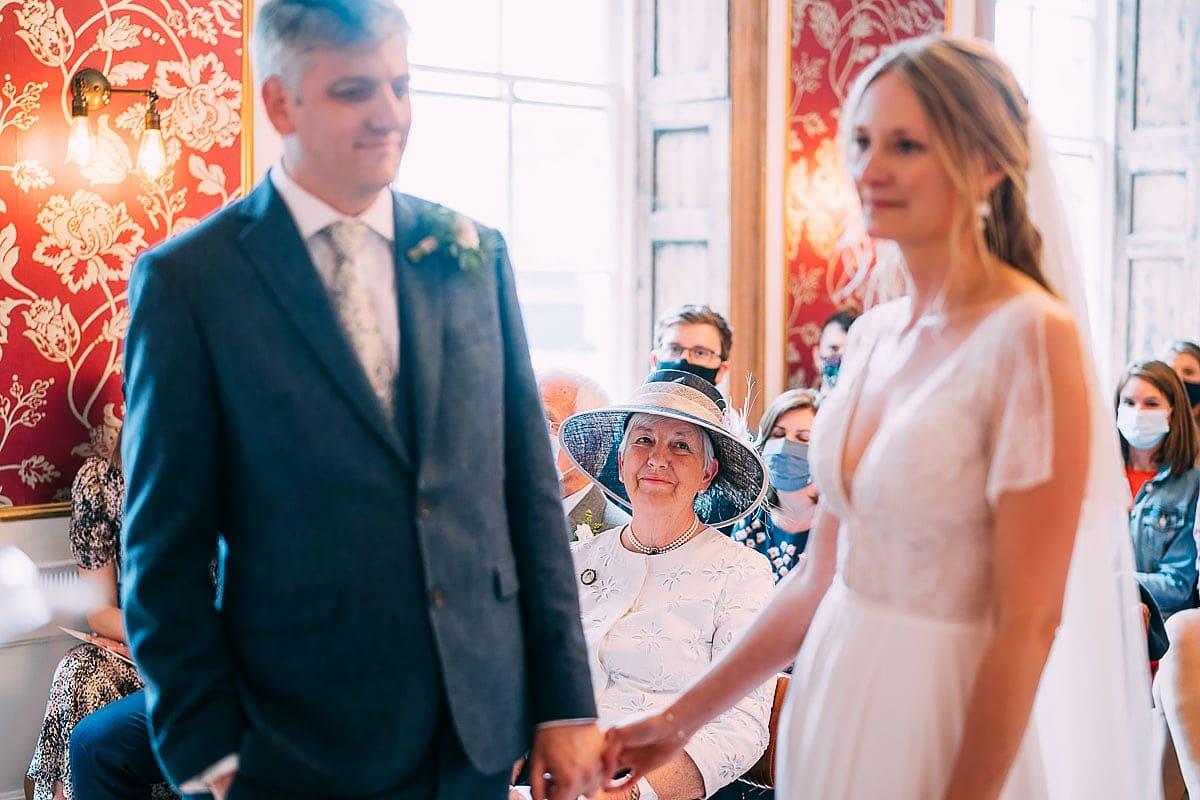 humanist wedding inside no.4 bristol