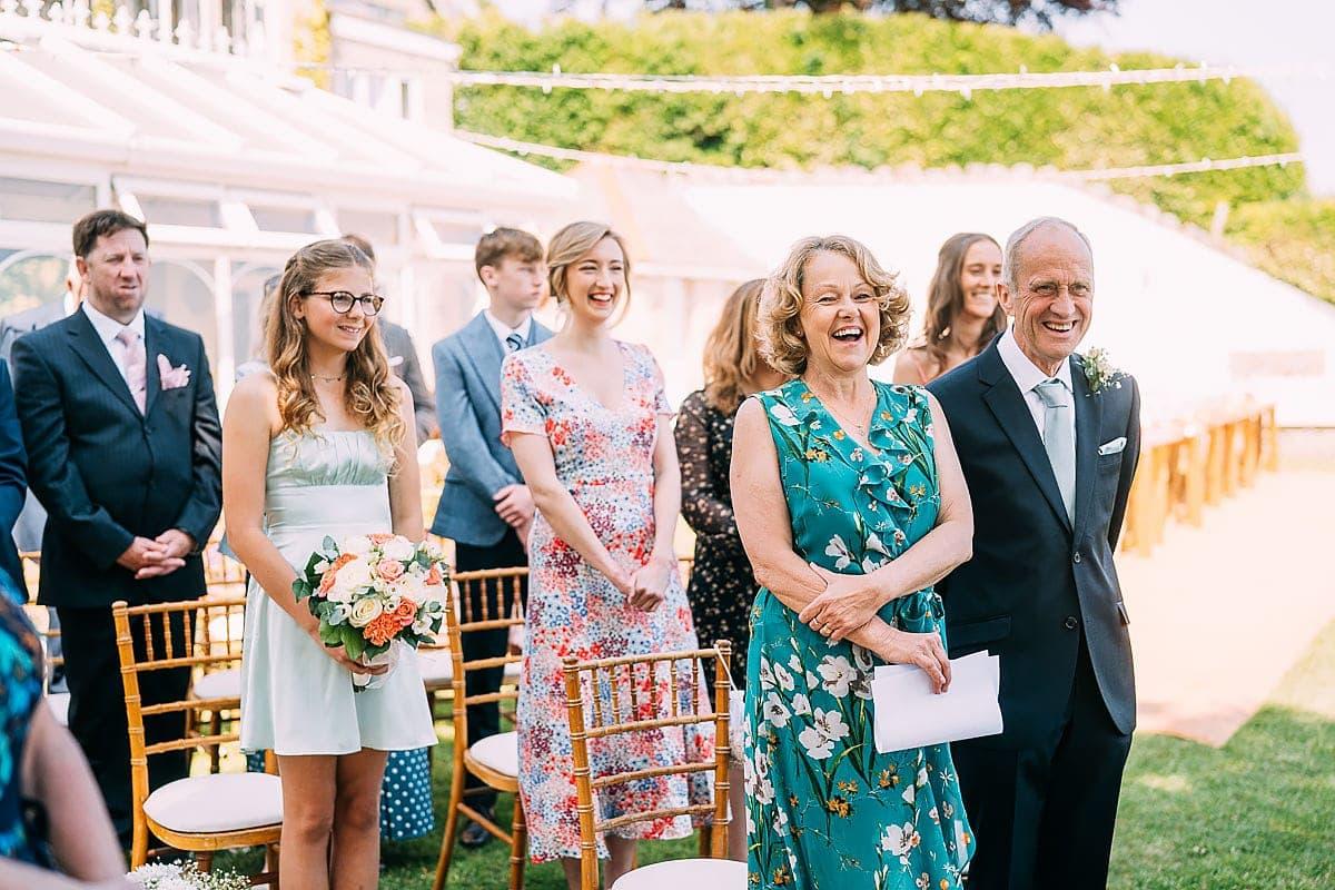 outdoor covid wedding